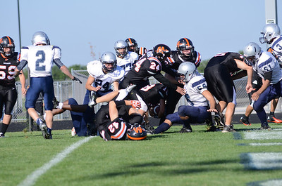 Oswego East Jv Football Vs Minooka 2012 012