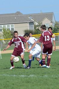 Oswego East Jv boys soccer Vs Lockport 2012 035