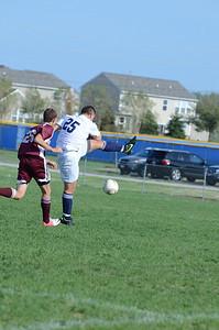 Oswego East Jv boys soccer Vs Lockport 2012 012
