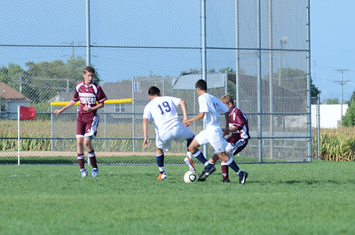 Oswego East Jv boys soccer Vs Lockport 2012 058