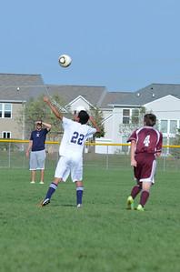 Oswego East Jv boys soccer Vs Lockport 2012 032