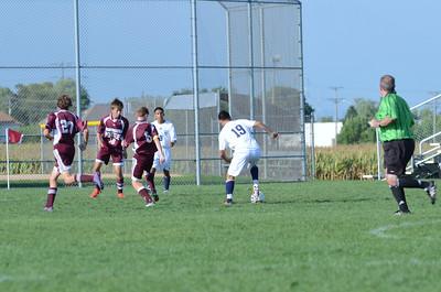 Oswego East Jv boys soccer Vs Lockport 2012 063