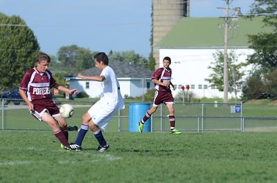 Oswego East Jv boys soccer Vs Lockport 2012 051