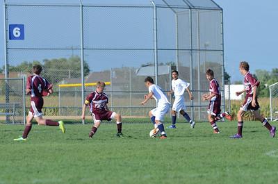 Oswego East Jv boys soccer Vs Lockport 2012 061