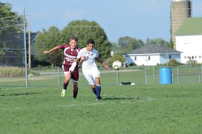 Oswego East Jv boys soccer Vs Lockport 2012 052