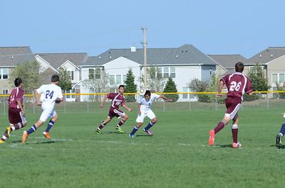 Oswego East Jv boys soccer Vs Lockport 2012 054