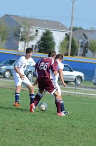 Oswego East Jv boys soccer Vs Lockport 2012 013