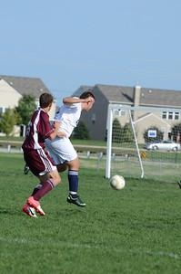 Oswego East Jv boys soccer Vs Lockport 2012 011