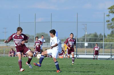 Oswego East Jv boys soccer Vs Lockport 2012 066