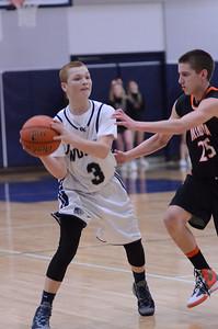 Oswego East Boys Basketball Vs Minooka (Senior Night 2013) 016