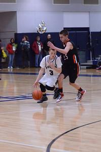 Oswego East Boys Basketball Vs Minooka (Senior Night 2013) 022