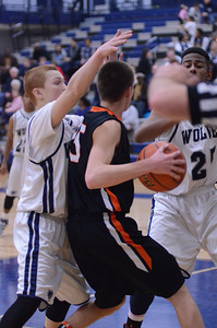 Oswego East Boys Basketball Vs Minooka (Senior Night 2013) 060