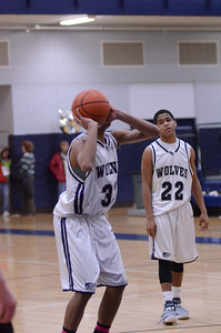 Oswego East Boys Basketball Vs Minooka (Senior Night 2013) 029
