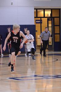 Oswego East Boys Basketball Vs Minooka (Senior Night 2013) 063