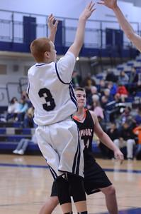 Oswego East Boys Basketball Vs Minooka (Senior Night 2013) 044