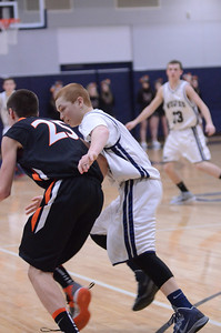 Oswego East Boys Basketball Vs Minooka (Senior Night 2013) 061