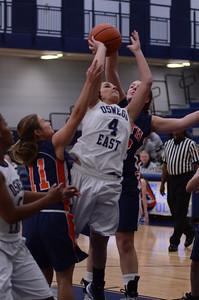 Oswego East Girls basketball Vs Naperville No  2012 270
