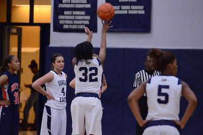 Oswego East Girls basketball Vs Naperville No  2012 259