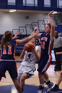 Oswego East Girls basketball Vs Naperville No  2012 268