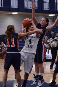Oswego East Girls basketball Vs Naperville No  2012 269