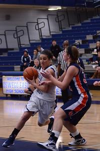 Oswego East Girls basketball Vs Naperville No  2012 267