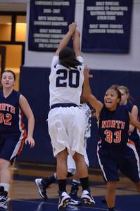Oswego East Girls basketball Vs Naperville No  2012 258