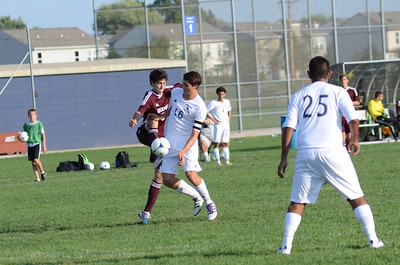 Oswego East Jv boys soccer Vs Lockport 2012 237