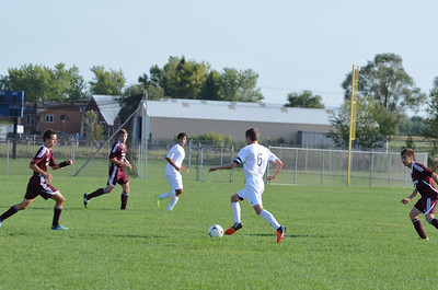 Oswego East Jv boys soccer Vs Lockport 2012 214