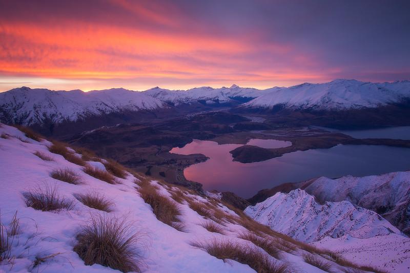 Sunset At Roys Peak
