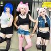 Sailor Mercury, Sailor Chibi Moon, and Sailor Moon