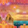 11x14_cosmic_lovelions_2inbrdr