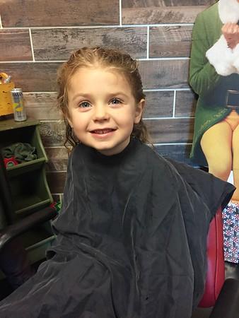 Avery's Hair Cut (12/21/2017)