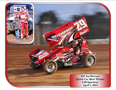 #29 Jan Howard Sprint Car Show Winner