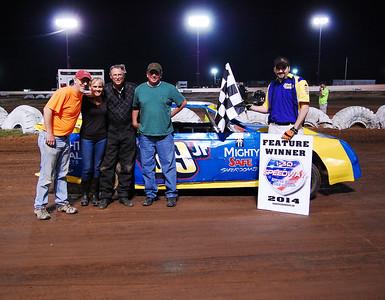 #99jr Randy Parsley Mini-Stock Feature Winner