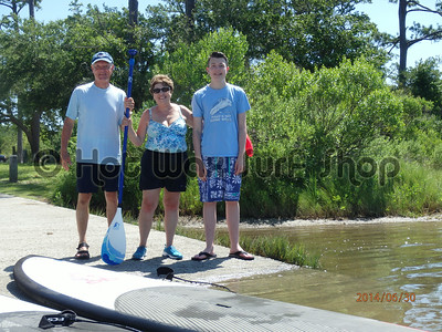 06-30-14 Private SUP Lesson