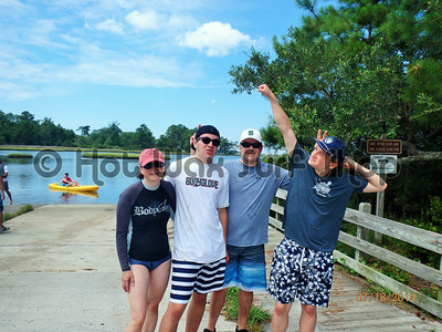 07-18-14 Group Kayak & SUP Eco & Fishing Tour
