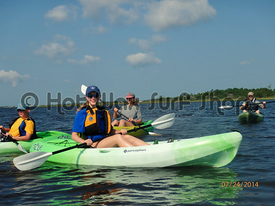 07-24-14 Group Kayak Lesson & Tour
