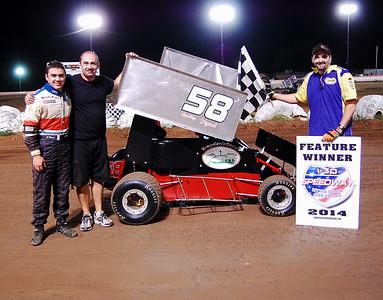 #58 Bradley Fezard 600 Feature Winner