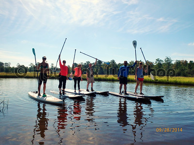 09-28-14 Zimmerman Private SUP & Kayak Eco Tour