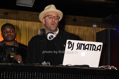 DJ Sinatra photo by Rob Rich/SocietyAllure.com © 2014 robwayne1@aol.com 516-676-3939