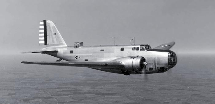 """THE AIRCRAFT<br /> <br /> The aircraft involved in this mishap was a Douglas B-18A """"Bolo"""" (37-515)."""