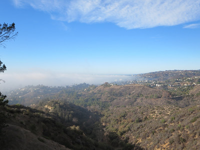 1/12/2014 - Hollywood Sign and Batcave Hike