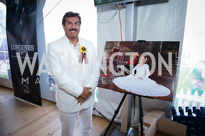 Javier Ocampo Ponce. Photo by Alfredo Flores. 139th Running of the Preakness. Pimlico Race Course. May 17, 2014.