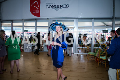 Jennifer Judkins. Photo by Alfredo Flores. 139th Running of the Preakness. Pimlico Race Course. May 17, 2014.