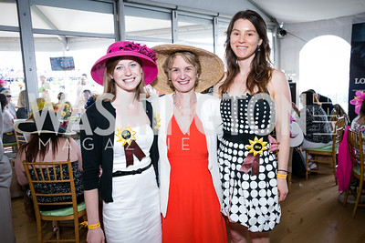 Kerry Kennedy Townsend, Kathleen Kennedy Townsend, Meaghan Kennedy Townsend. Photo by Alfredo Flores. 139th Running of the Preakness. Pimlico Race Course. May 17, 2014.