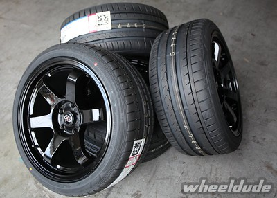 17x9 Rota Grid on 245/40/17 Falken Azenis FK453