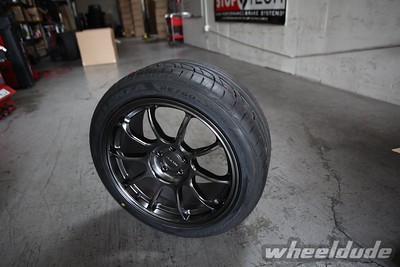 17x9 Rota SS10 wrapped with 245/40/17 Bridgestone Potenza RE760