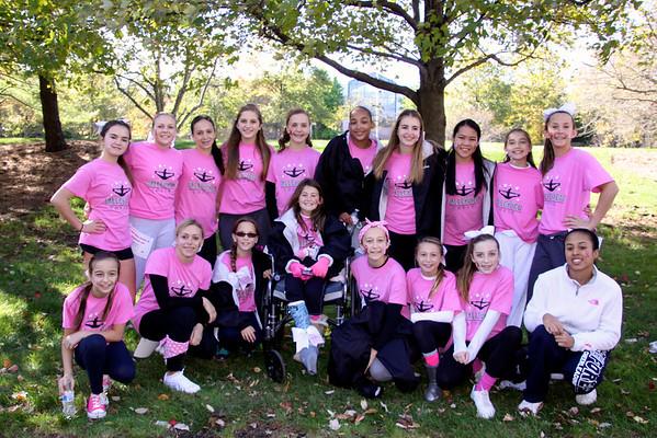 19 October 2014 - Breast Cancer Walk