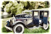 Canvas Print 1924 Buick Duchess Old Car 106