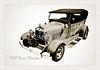 Canvas Print 1929 Ford Phaeton Antique Car i3498.01